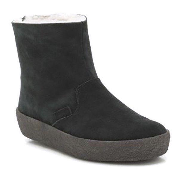 Dámské kotníkové boty s kožíškem Clarks