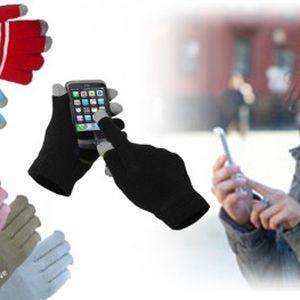 Rukavice pro dotykové displeje. Super tip na dárek, který vás zahřeje a dokonce s ním budete ovládat telefon a další vaše přístroje.