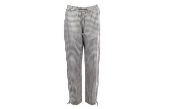 Dámské světlé kárované pyžamové kalhoty Tommy Hilfiger