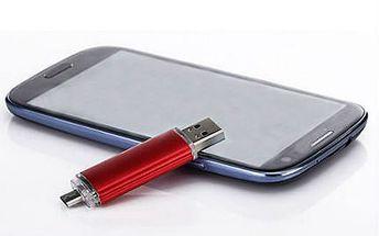 OTG flash disk s kapacitou 32 nebo 64 GB!