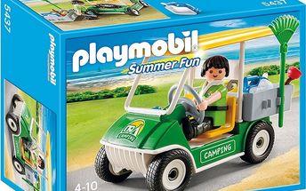 Auto zaměstnance kempu Playmobil 5437
