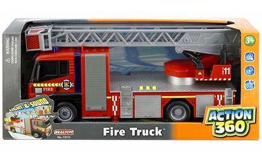 Požární auto se světlem a zvukem (REALTOY 18R13111)