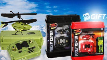 Mini vrtulník RC dálkově ovládaný Air Hogs ve třech variantách! Perfektní dárek pro všechny děti!