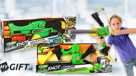 Dětská zbraň na vodu a šipky X-SHOT THUNDERSHOT – Zuru a dětský luk a raketa X-SHOT Stalker – Zuru!