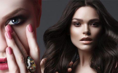 Balíček na vylepšení Vaší celkové vizáže: proměna vlasů + kosmetické ošetření + manikúra i s lakováním!