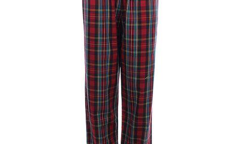 Dámské kostkované pyžamové kalhoty s černou mašlí Tommy Hilfiger
