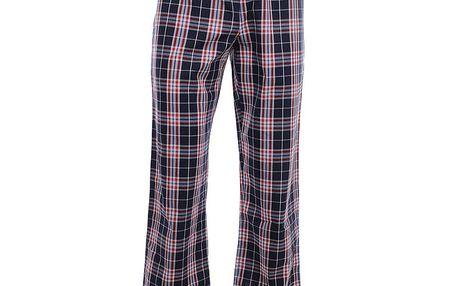 Pánské modro-červené kárované pyžamové kalhoty Tommy Hilfiger