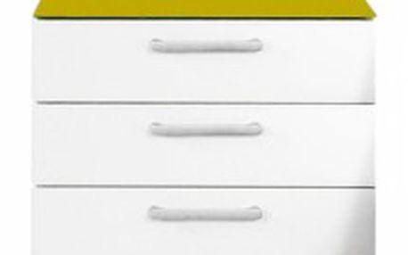 Onella Noční stolek, 3x zásuvka, demontováno