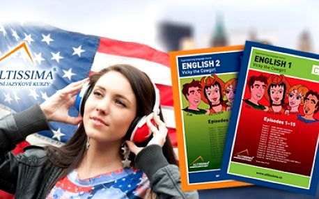 UČEBNICE ANGLIČTINY pro ZAČÁTEČNÍKY, nebo MÍRNĚ či STŘEDNĚ PORKOČILÉ + 3 CD! Speak english now!