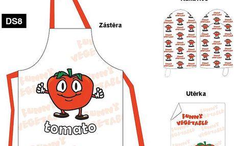 Ideální dárek pro kuchaře, kuchyňská souprava Tomato