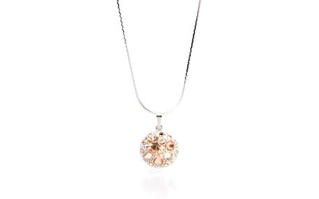 Dámský náhrdelník s barevnými krystaly Laura Bruni