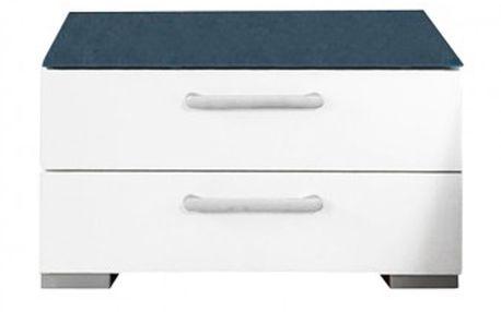 Onella Noční stolek, 2x zásuvka, demontováno