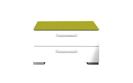 Onella Noční stolek, 2x zásuvka, smontováno