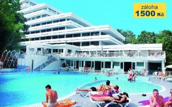 Bulharsko, oblast Zlaté Písky, letecky, snídaně, ubytování v 3* hotelu na 8 dní