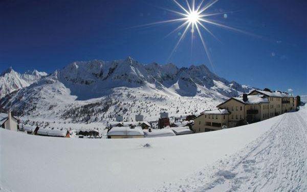 CASA OCCHI - FREE SKI, skipas Adamello Ski, vlastní doprava