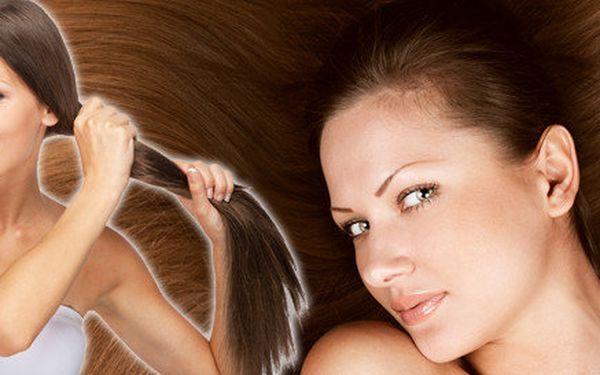 Keratin shot - totální obnova struktury vlasů + zdarma foukaná