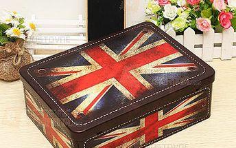 Krabice s motivem vlajky se zámečkem a poštovné ZDARMA! - 9999915580