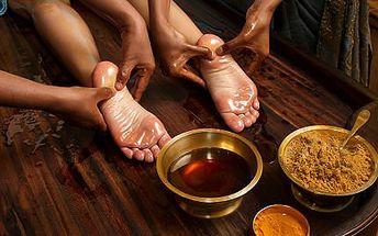 Příjemná thajská masáž plosek nohou i hlavy, obličeje i šíje!