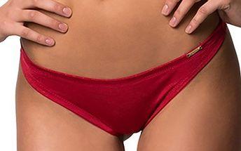 Dámské červené kalhotky - tanga Sapph