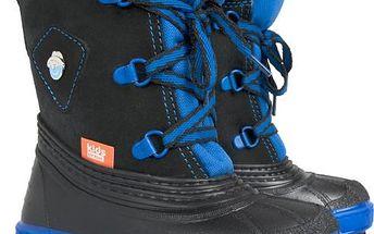 Dětské sněhule Billy A - modré