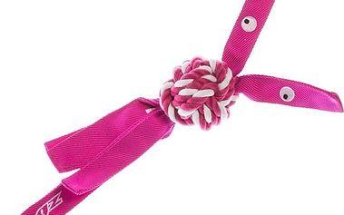 Růžová hračka pro psy