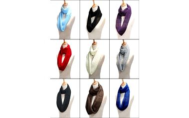 Zimní šál v 9 barvách a poštovné ZDARMA! - 9999905695