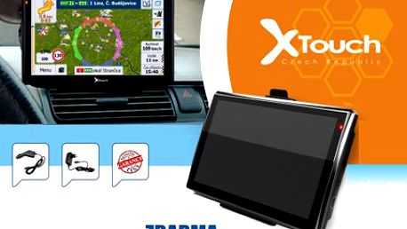 GPS navigace X-Touch se širokoúhlým displejem
