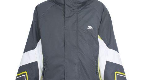 Tmavá zimní bunda