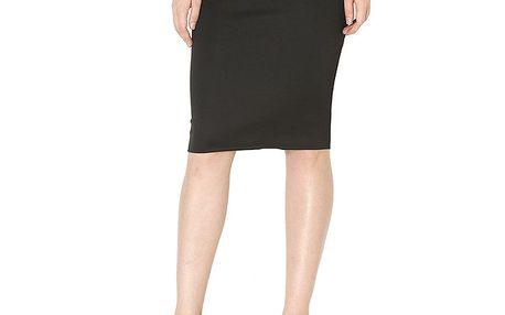Dámská černá pouzdrová sukně Santa Barbara