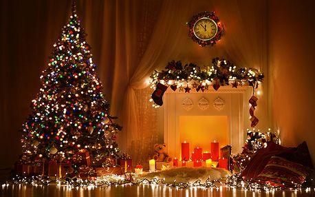 Vánoční osvětlení do interiéru