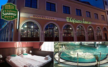 Relaxační nebo SPA balíček v Hotelu U Hejtmana Šarovce****