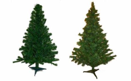 Umělý vánoční stromek v přírodním vzhledu: 120 nebo 210 cm