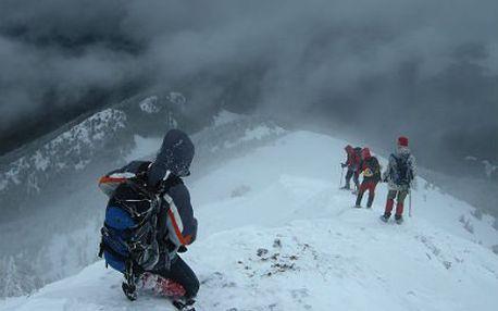 Adrenalinový kurz přežití na sněhu s průvodcem: 2 dny