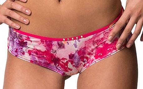 Dámské růžové kalhotky s potiskem Sapph