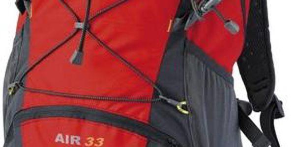 Nejmenší dvoukomorový batoh od Pinguinu Air 33 červená