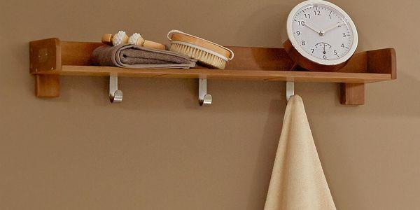 Nástěnné hodiny do koupelny