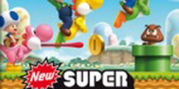 Akční hra New Super Mario Bros (WII)