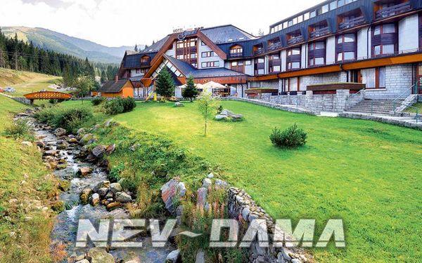 Hotel Grand Wellness Jasná, Jasná, Slovensko, vlastní doprava, snídaně v ceně