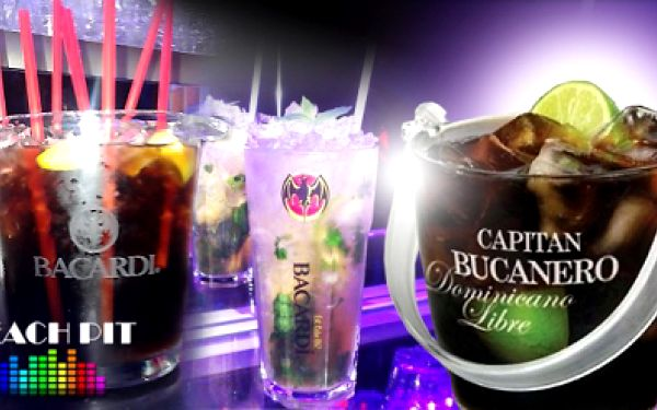 MAXI MÍCHANÉ NÁPOJE pro 6 osob! Vyberte si: Mojito, Cuba libre, Sex on the beach nebo Long island ice tea!