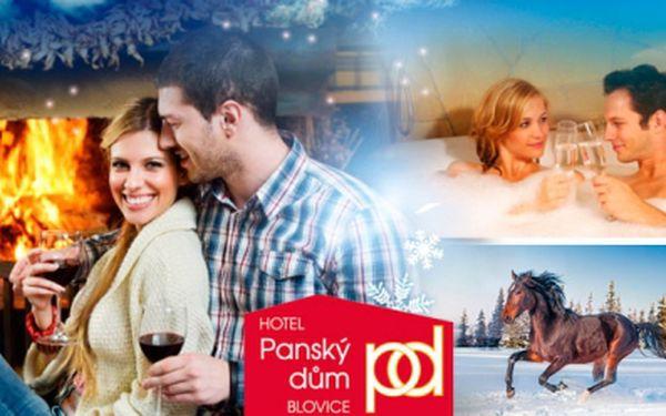 3denní romantický pobyt pro 2 osoby s polopenzí na západě Čech v Hotelu Panský dum Blovice!