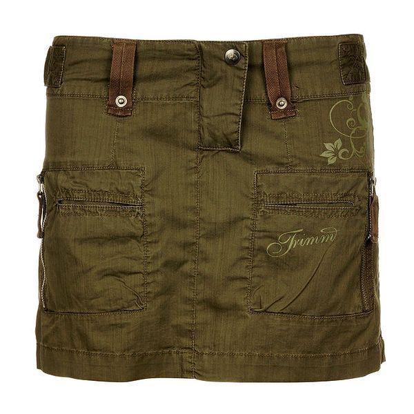Dámská khaki outdoorová sukně Trimm