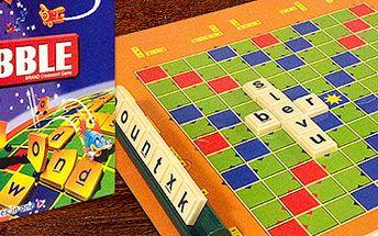 Junior Scrabble: naučí angličtinu hravou formou! Skvělé i do škol a školek.