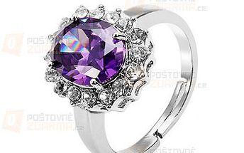 Nádherný prsten s velkým kamínkem a poštovné ZDARMA! - 9999915676