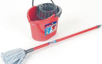 Vileda kbelík s mopem, pro malé pomocnice