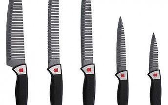 Sada nožů nepřilnavých 5 ks St. Moritz RENBERG