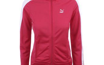Dámská červenorůžová sportovní bundička Puma