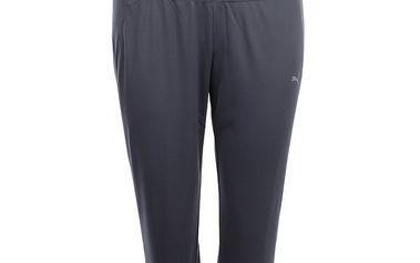 Dámské fitness capri kalhoty v šedé barvě Puma