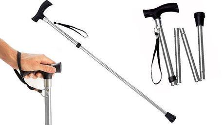Praktická skládací vycházková hůl Wenko