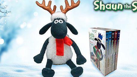 Vánoční ovečka Shaun i 5 pohádek na DVD