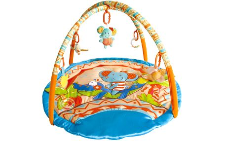 Hrací deka s hrazdou zvířátka safari